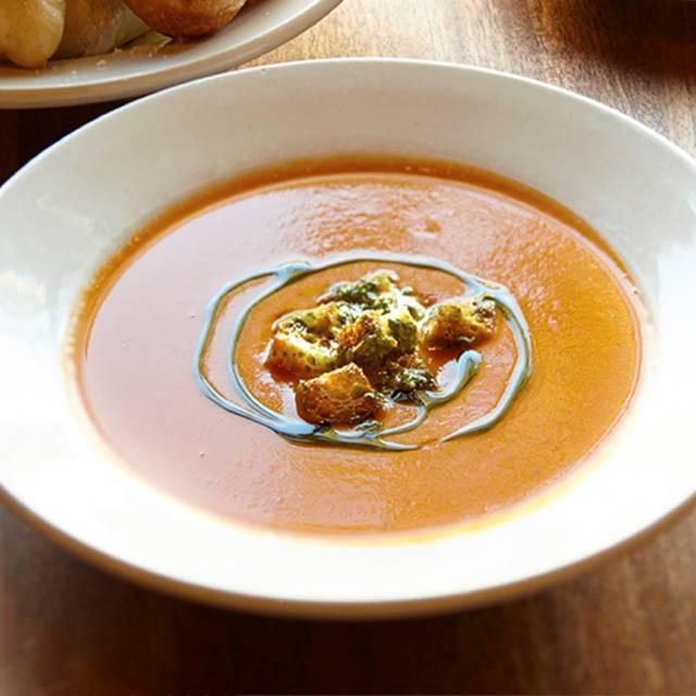 Tomatoe-basil Soup Bowl - Tomatina - Montgomery Village, Santa Rosa, CA