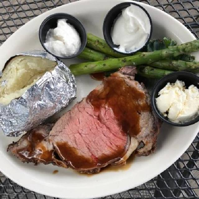 Prime Rib Dinner - The Point at Glenwood, Raleigh, NC