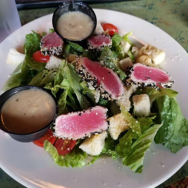 Sesame Crusted Tuna Salad Cust - The Point at Glenwood, Raleigh, NC
