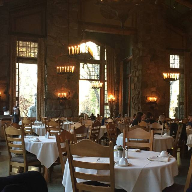 Ahwahnee Dining Room. The Majestic Yosemite Hotel, Village, Ca Ahwahnee Dining  Room