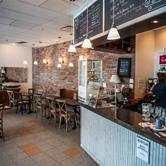 Café Bicyclette, Edmonton, AB