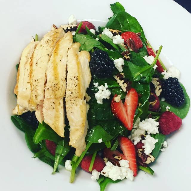 Spinach And Berries Salad - NM Cafe at Natick - Neiman Marcus, Natick, MA