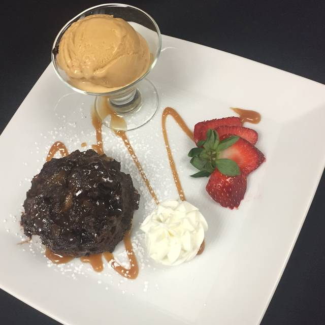 Chocolate Bread Pudding - NM Cafe at Natick - Neiman Marcus, Natick, MA