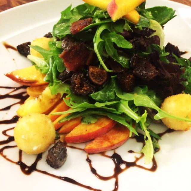 Fig And Peach Salad - NM Cafe at Natick - Neiman Marcus, Natick, MA