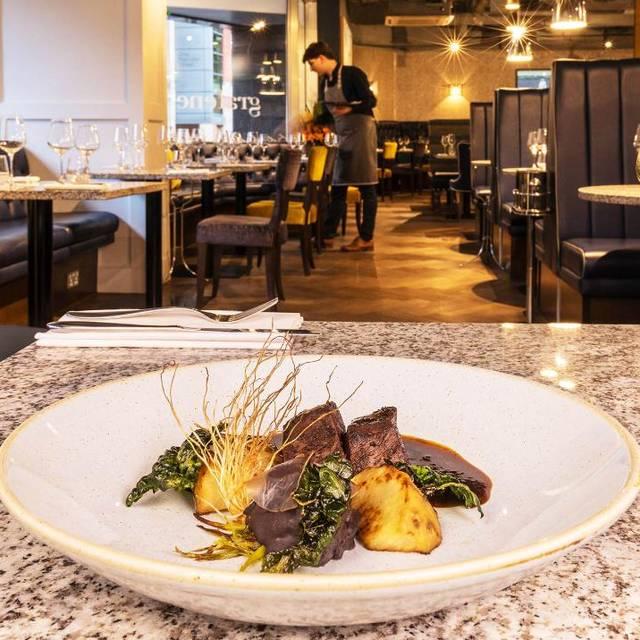 Venison  - Grafene Restaurant & Bar, Manchester