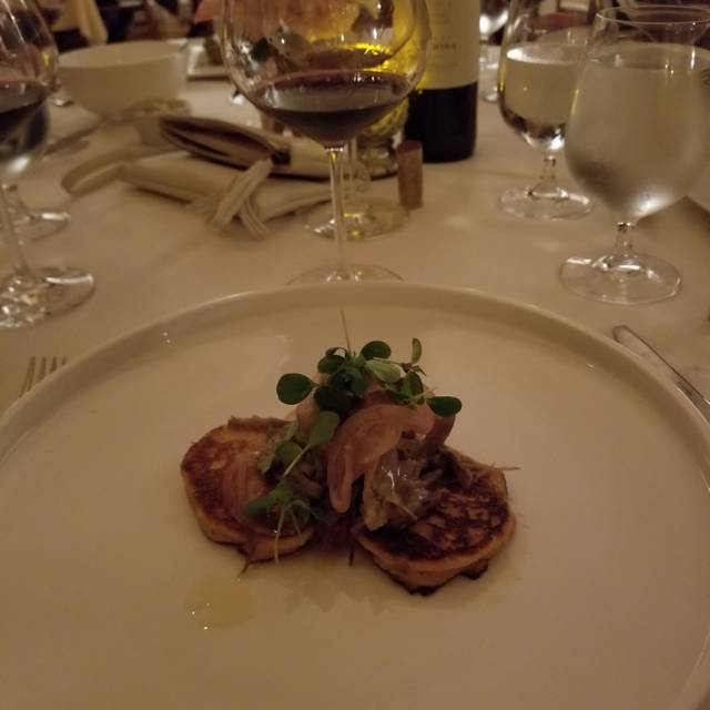 Monteverde Restaurant Ny Menu
