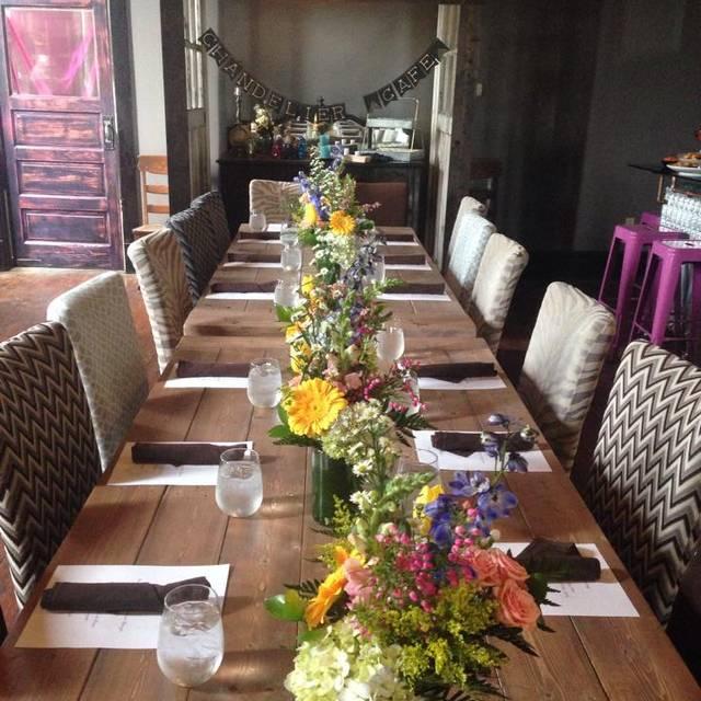 Chandelier Restaurant - Jackson, TN