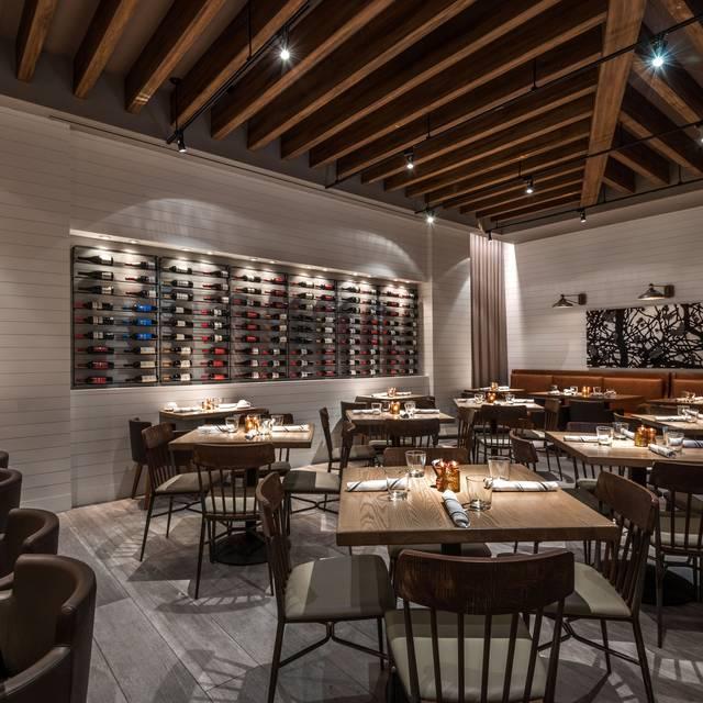 Rear dining room - Corinne Restaurant, Denver, CO