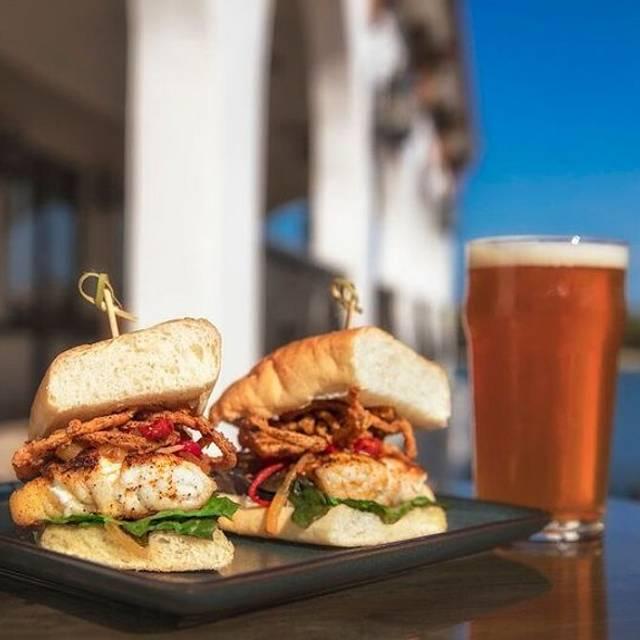 Grouper Sandwich - Castile Restaurant, St. Petersburg, FL