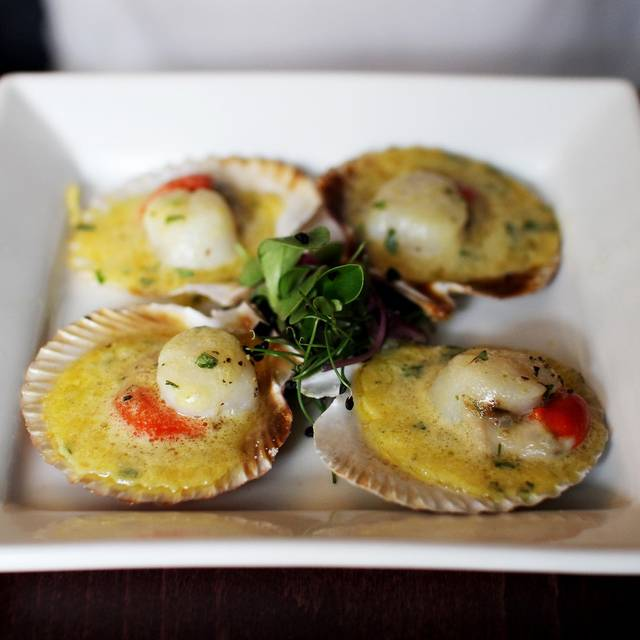 These Little Things Scallops - 11 Brasserie @ No 11, Edinburgh