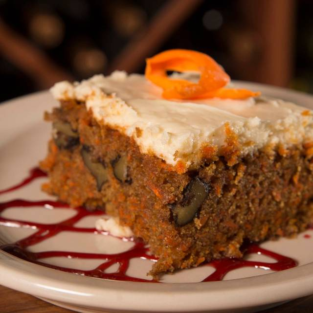 Carrot Cake - The Prime Rib Restaurant & Wine Cellar, Gillette, WY