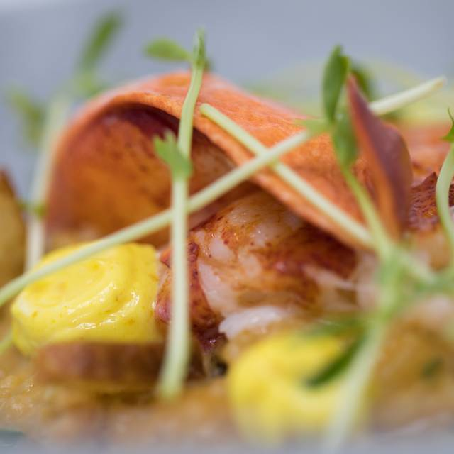 Butter Poached Nova Scotia Lobster Shellfish Bouillabaisse Risotto Saffron Aioli - Nicholas, Red Bank, NJ