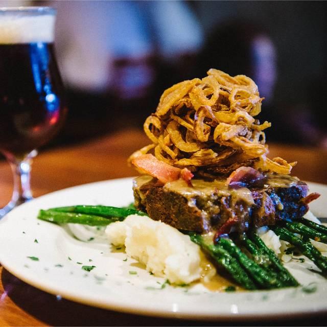 Bacon Wrapped Meatloaf - Squatters Pub - Salt Lake City, Salt Lake City, UT