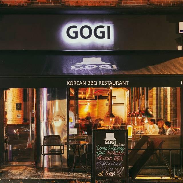 Gogi Outside - Gogi Restaurant, London