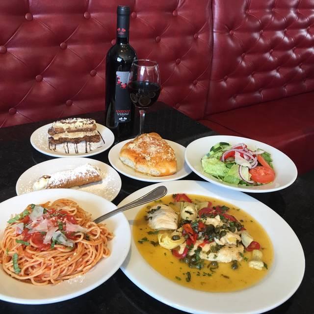 Joey G S Italian Kitchen Menu