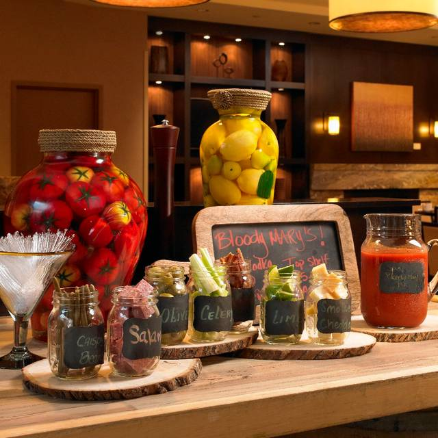 Bloody Mary Bar - Eques, Bellevue, WA