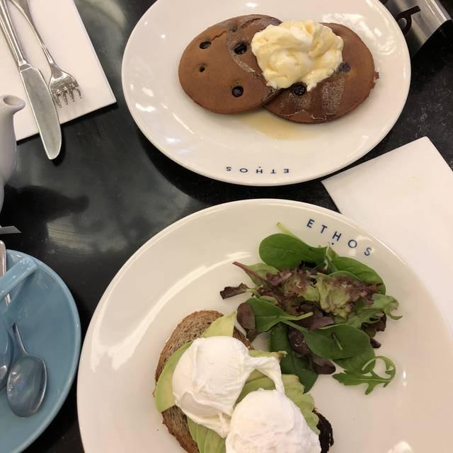 Ethos Restaurant - London,   OpenTable