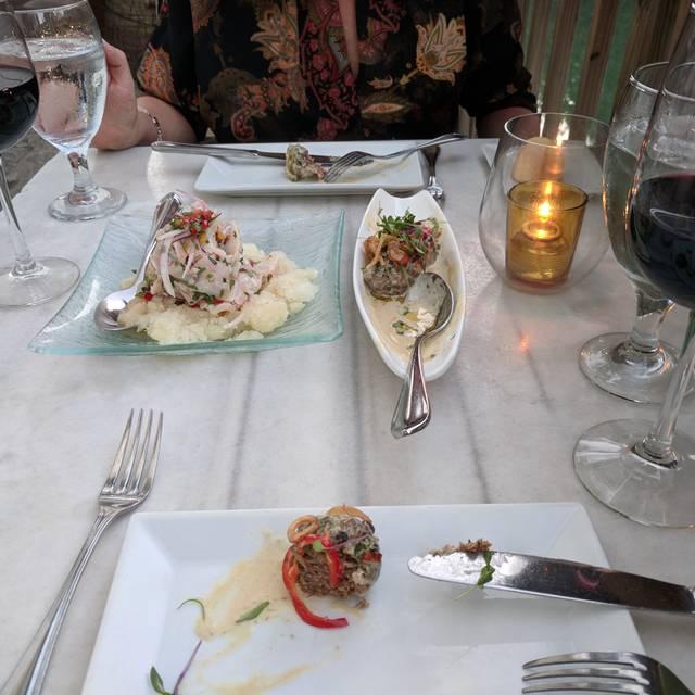 Ola Restaurant Miami Beach Menu