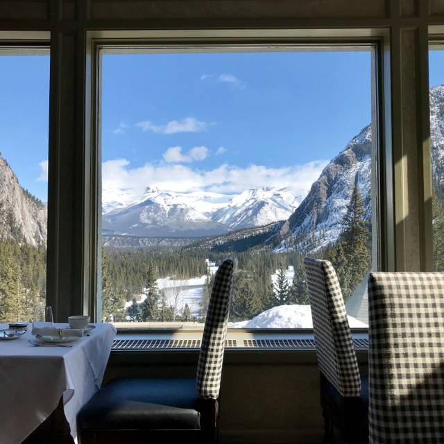Rundle Lounge - Afternoon Tea - Fairmont Banff Springs Hotel, Banff, AB