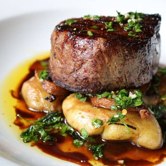 Dine Out Filet  - Strip by Strega, Boston, MA