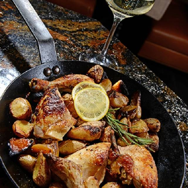 Rotisserie Chicken - Ristorante  Del Lago - The Broadmoor, Colorado Springs, CO