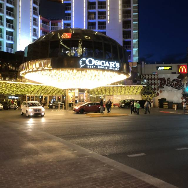 Oscar's Steakhouse at the Plaza Hotel & Casino, Las Vegas, NV