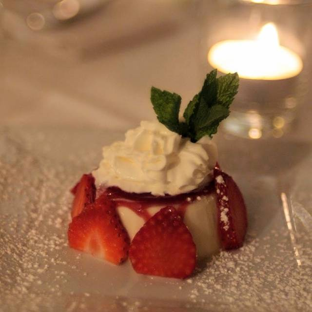 panna cotta - The Victor Cafe, Philadelphia, PA