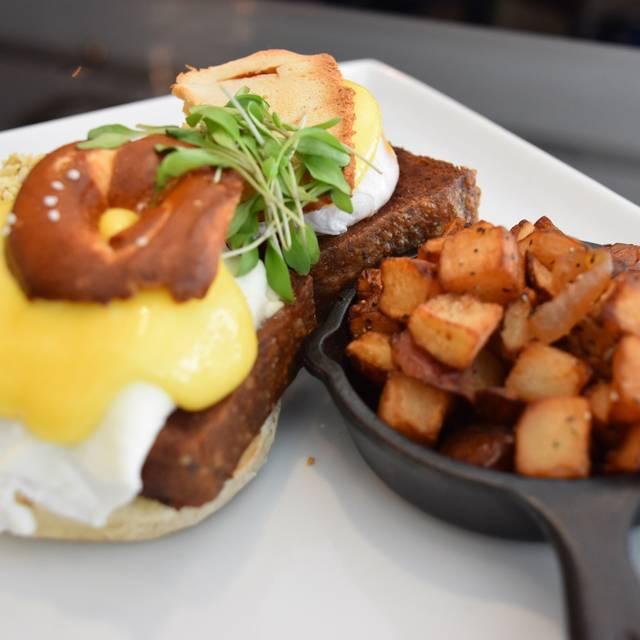 Philly Style Egg Benedict - Chez Colette - Sofitel Philadelphia, Philadelphia, PA