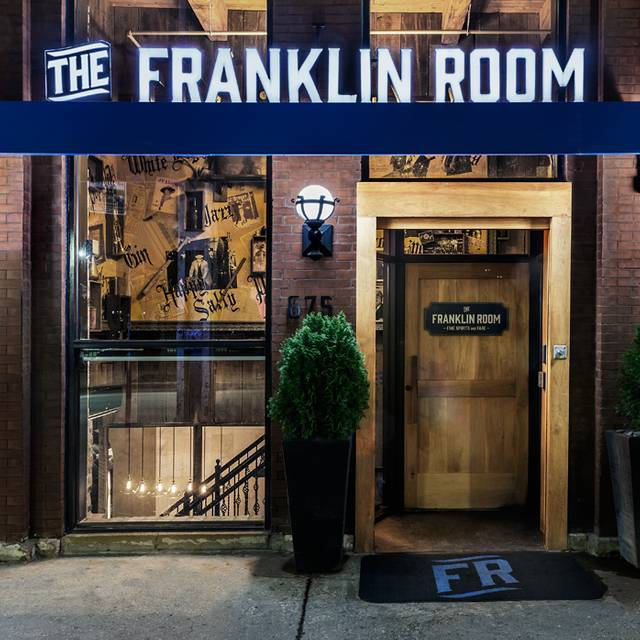Main Entrance - The Franklin Room, Chicago, IL
