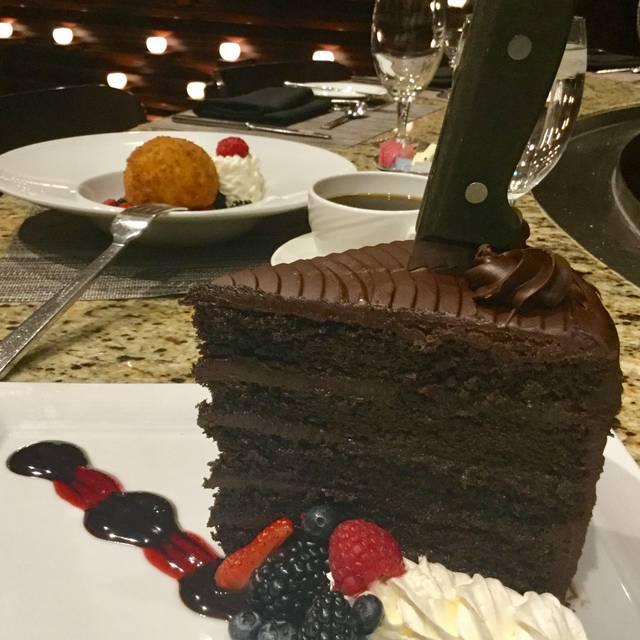 Chocolate - The Reserve Steakhouse - Harrah's Joliet, Joliet, IL