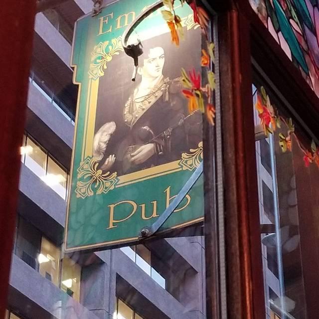 Emmet's Irish Pub and Restaurant, Boston, MA