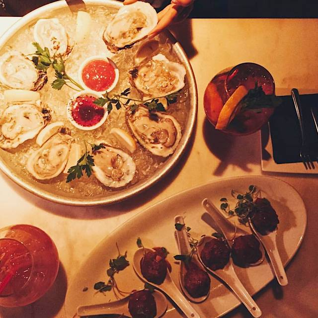 Oysters and Meatballs - Bocca Di Bacco (Chelsea - 20th St.), New York, NY