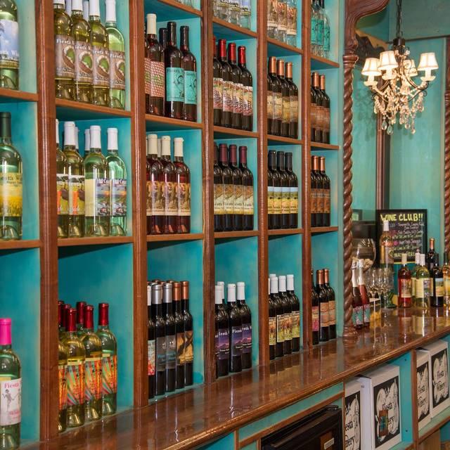 Fiesta Winery Main Street Fredericksburg Restaurant