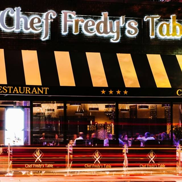Chef Fredy's Table, Morristown, NJ