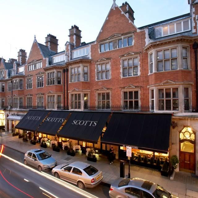 Scott's Restaurant, London