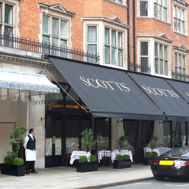 Scott's Restaurant, London