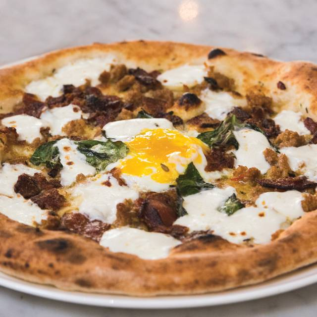 Egg N Bacon - Midici Neapolitan Pizza - King of Prussia, King of Prussia, PA