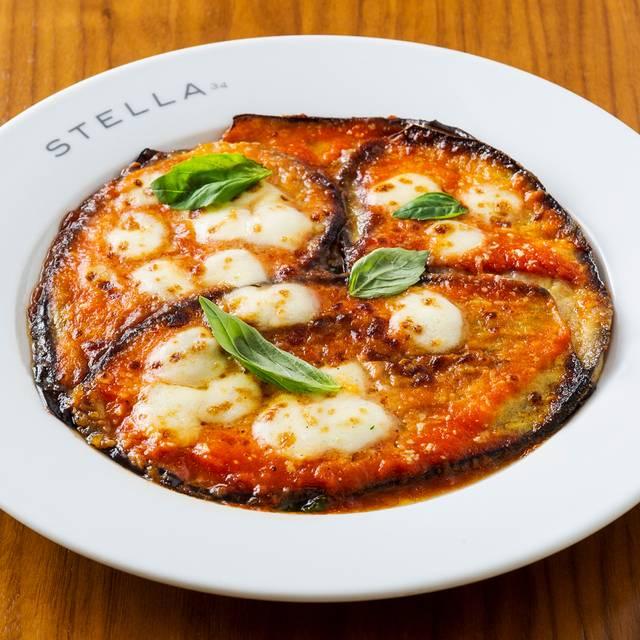 Tortino Di Melanzane - Stella 34 Trattoria, New York, NY