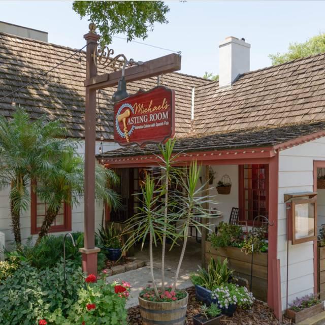 Front Entrance - Michael's Tasting Room, St. Augustine, FL