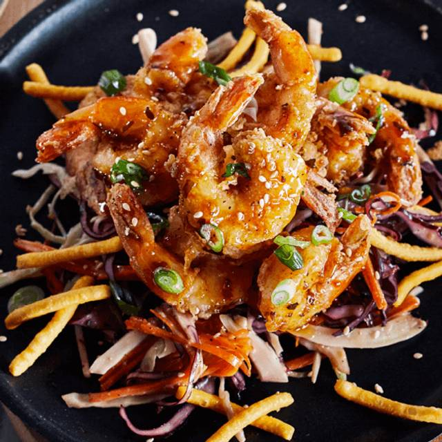 Crispy Shrimp - Bâton Rouge Steakhouse & Bar - de la Montagne, Montréal, QC