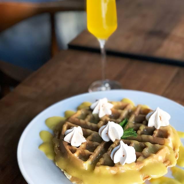 Lemon Meringue Waffle  - Dianne & Elisabeth, New York, NY