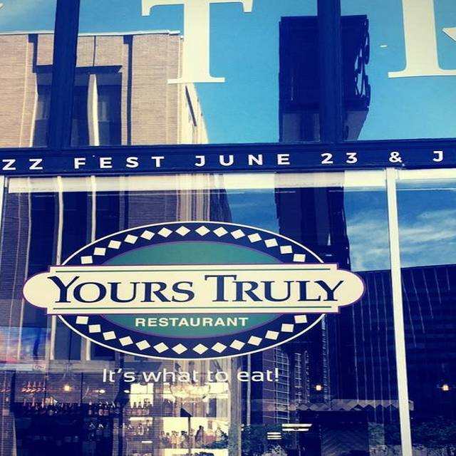 Yours Truly Playhouse Square Restaurant Cleveland Oh Opentable