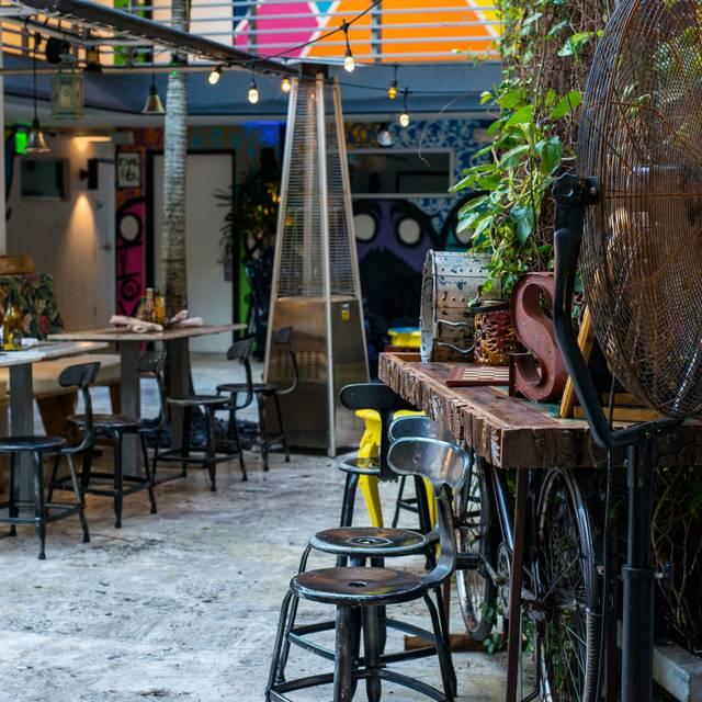 Latin Cafe St Street Miami Beach