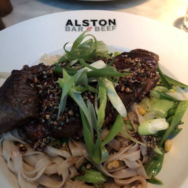Alston Bar & Beef, Glasgow