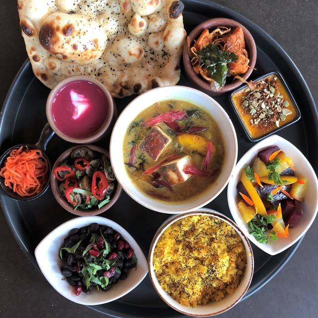 Paneer Thali - Poppy, Seattle, WA