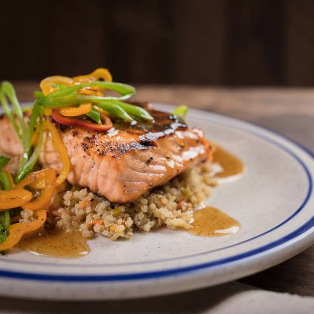 Conner's Salmon - Conner's Kitchen + Bar, Indianapolis, IN