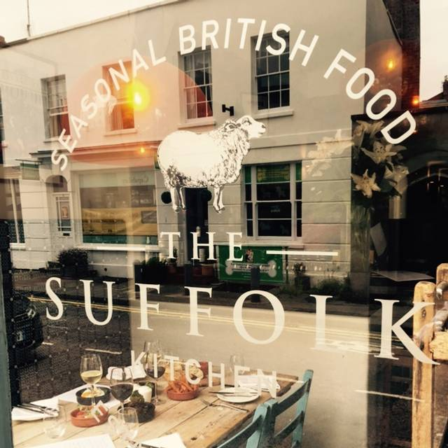 Tsk From Outside - The Suffolk Kitchen, Cheltenham, Gloucestershire