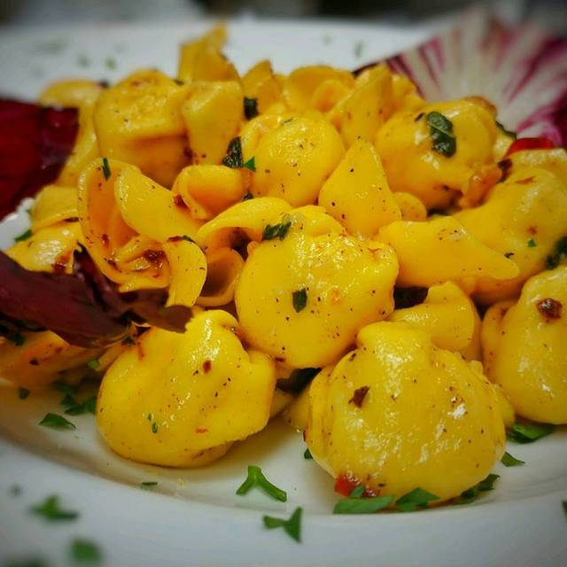 Fiochetti, Pasta Pouches Stuffed With Pear And Ricotta - Robert's Scratch Kitchen, Totowa, NJ
