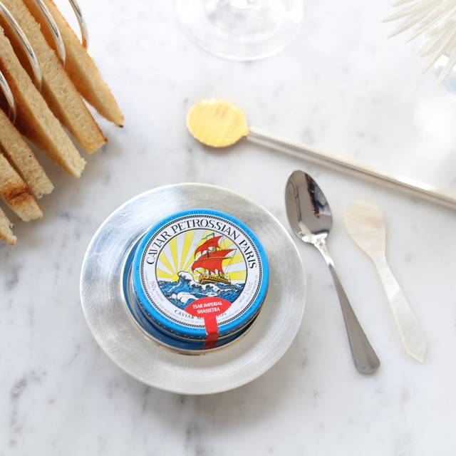 Caviar Service - Petrossian Paris Boutique & Restaurant, West Hollywood, CA