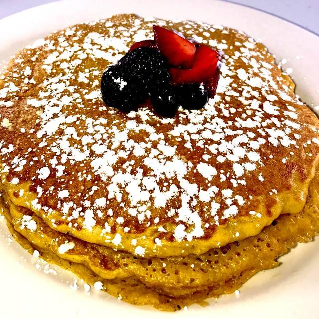 Sweet Potato Pancake - Symphony Hotel Restaurant, Cincinnati, OH